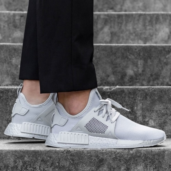 sports shoes bf2a2 f157b Mens Adidas NMD_XR1 Silver